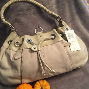 NWT BCBG MAXAZRIA  Short Shoulder Leather Bag